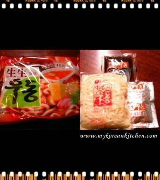 Korean Instant Udon noodles