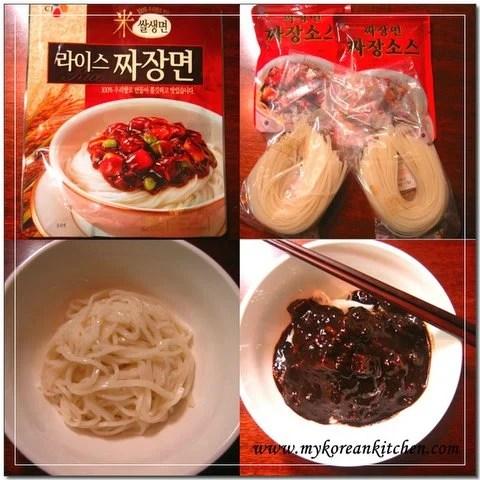 How to cook instant Jajangmyeon   MyKoreanKitchen.com