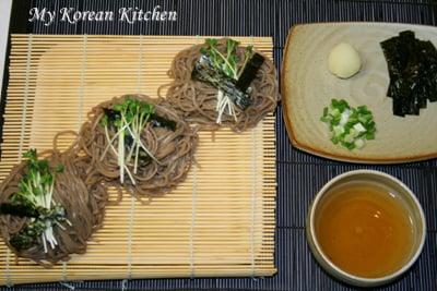 Buckwheat Noodles (Memil Guksu in Korean) 1