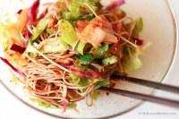 Korean Spicy, Sweet and Vinegary Noodles (Bibim Guksu) | MyKoreanKitchen.com