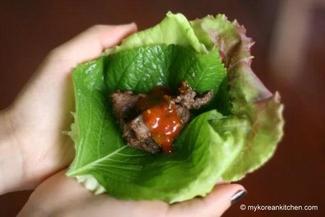Kangaroo Meat Bulgogi BBQ | MyKoreanKitchen.com