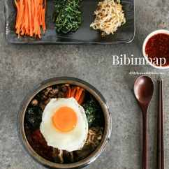 Kitchen.com Kitchen Computer Desk Bibimbap Korean Mixed Rice With Meat And Assorted Vegetables My Mykoreankitchen Com