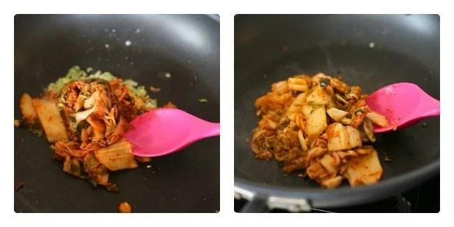 Step 3. Garlic Sesame Kimchi