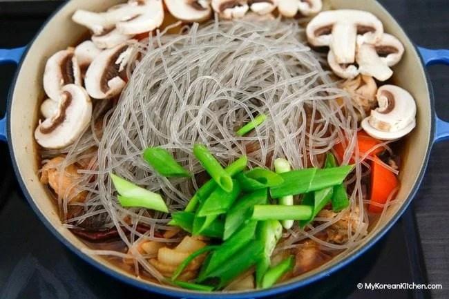Jjimdak (Korean braised chicken) recipe | MyKoreanKitchen.com
