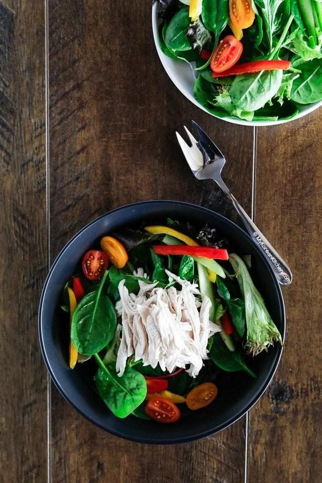Korean Shredded Chicken Salad | MyKoreanKitchen.com