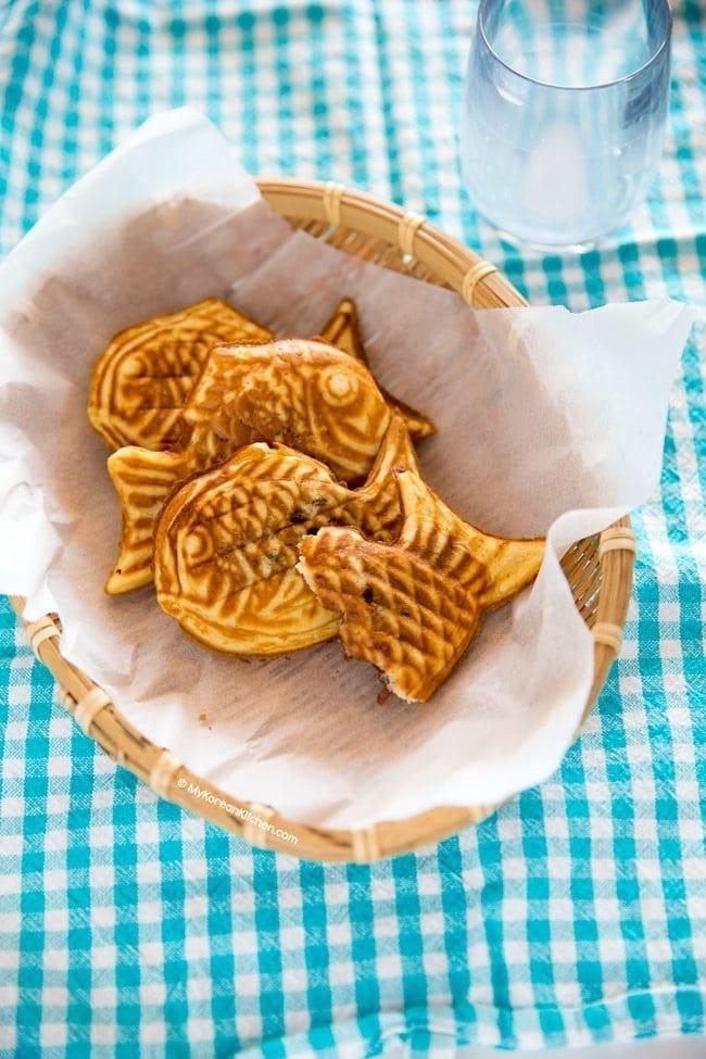 Korean fish waffles (Bungeoppang) recipe