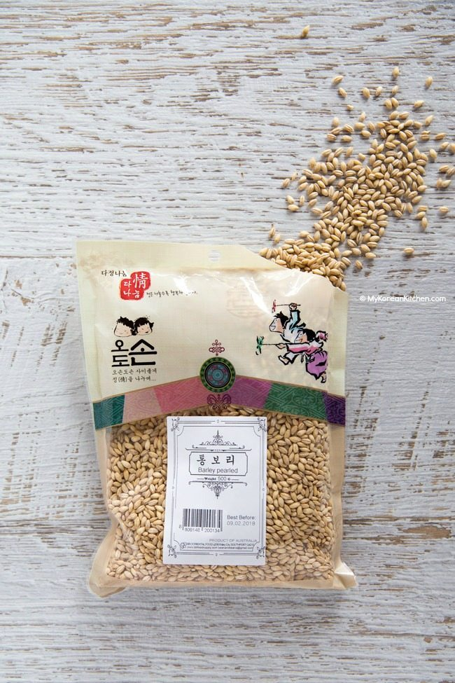 Korean Pearl Barley   MyKoreanKitchen.com
