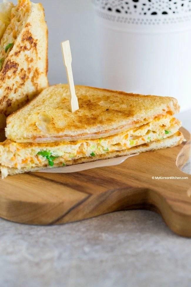Korean Breakfast Sandwich