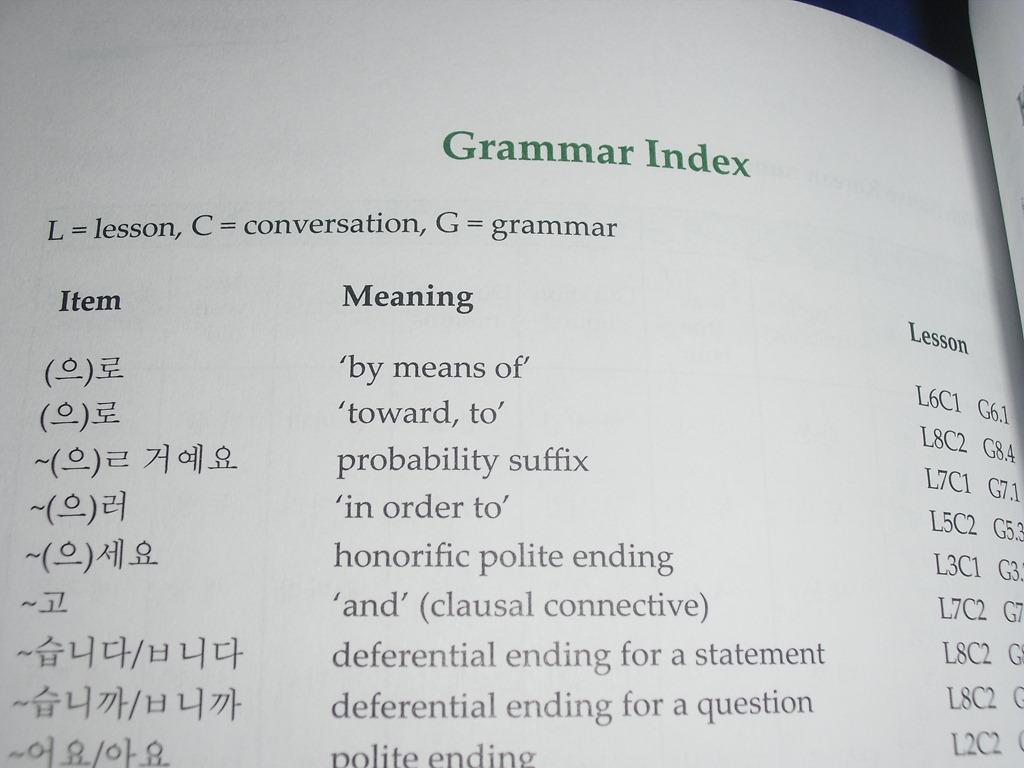 Korean Textbook Integrated Korean Beginning 1