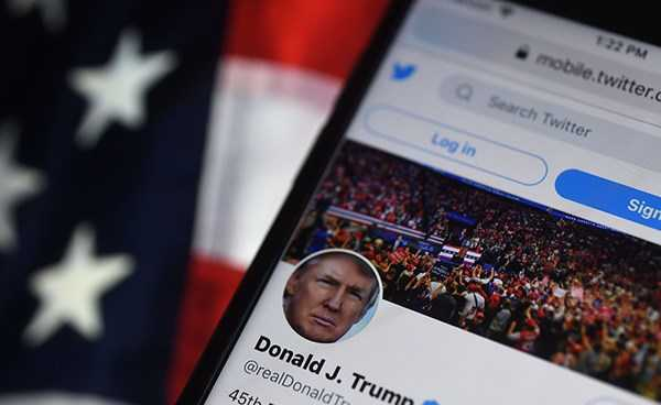 Donald Trump twitter account suspended permanently
