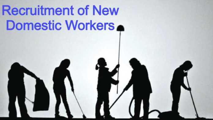 Allowing the recruitment of new domestic workers with conditions