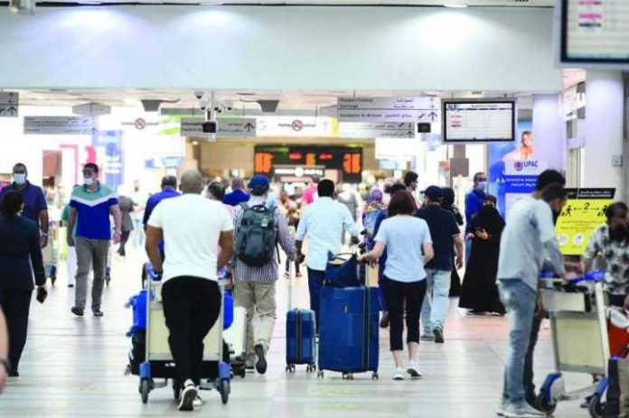 120 thousand passengers leave Kuwait within a week