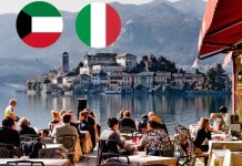 Italy exempts quarantine requirement for Kuwait travelers