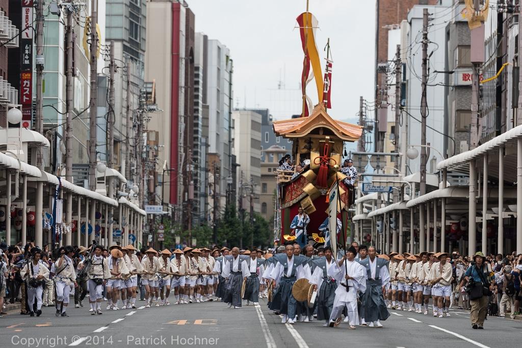 Gion Matsuri in July