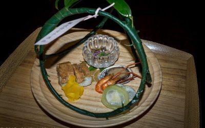 Kikunoi, Menu for Fumizuki (July)