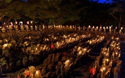 """""""Sento-Kuyo"""" Memorial, Adashino Nenbutsu-ji"""