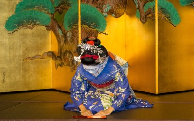 Kyoto dining with Maiko
