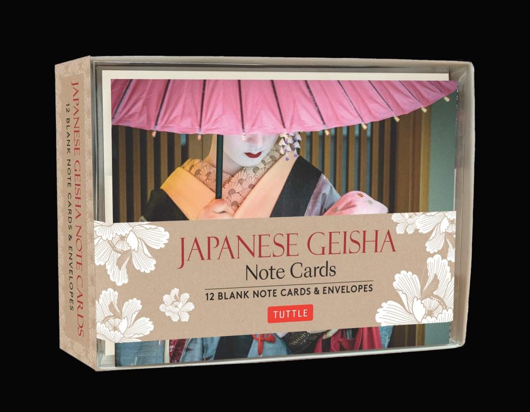 Japanese Geisha Cards