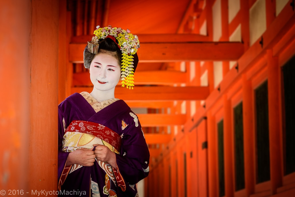 Maiko Fukune, the Special Prize winning photo