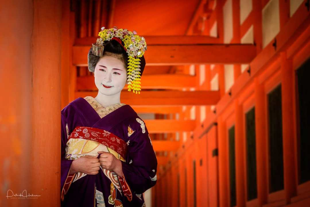 Winner Special Prize, Maiko PPW Photo Shoot at Heian Jingu