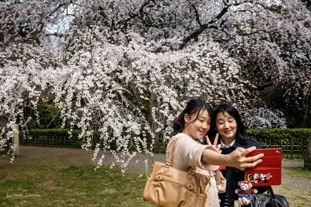 Selfie in the Gyoen park