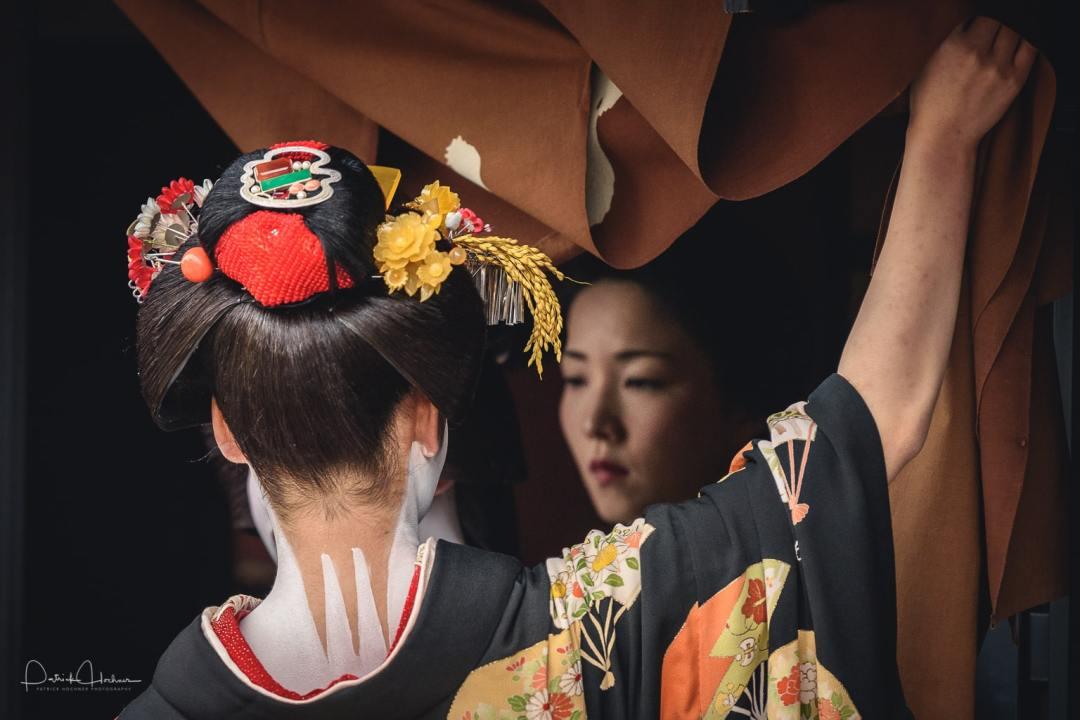Shigyo Shiki around Kamishichiken, Kyoto