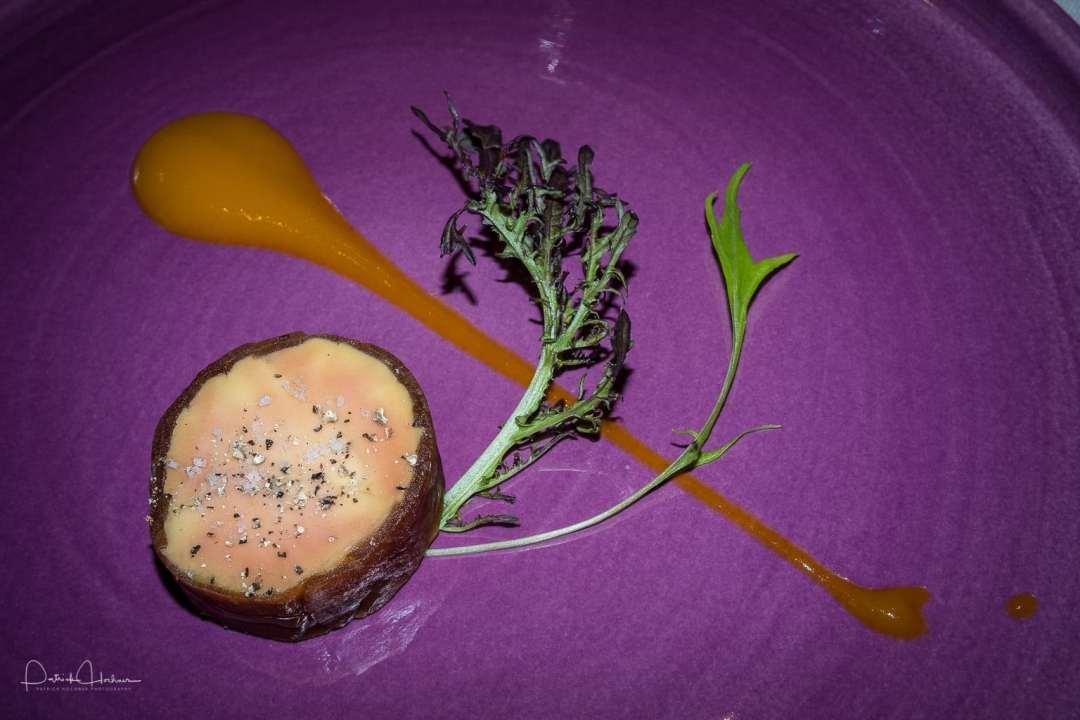 Foie gras at Ryoriya Stephane Pantel