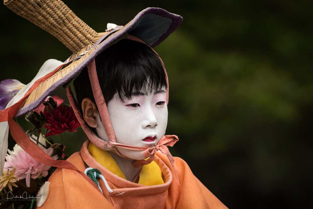 Chigo (Celestial Children) , Hanagasa Junko, Gion Matsuri