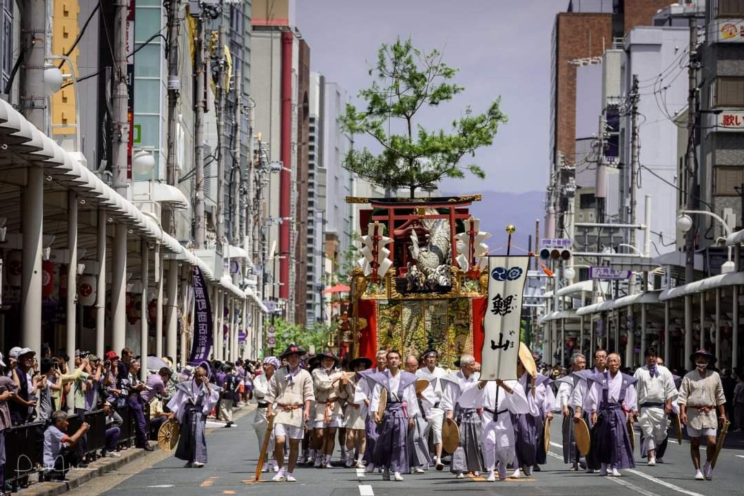Yamahoko Junko Parade, Gion Matsuri
