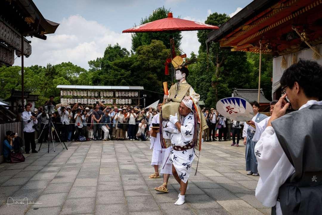 Naginata-hoko Chigo Shasan, Gion Matsuri, Kyoto