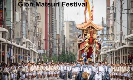 The Gion Matsuri Festival