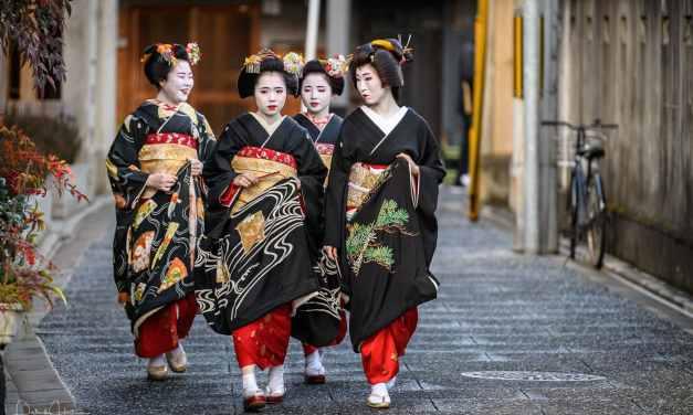 New Year's Greeting around Kamishichiken