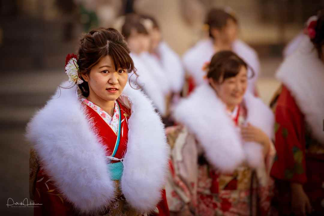 Coming of Age or Seijin ni Hi festival, Kyoto