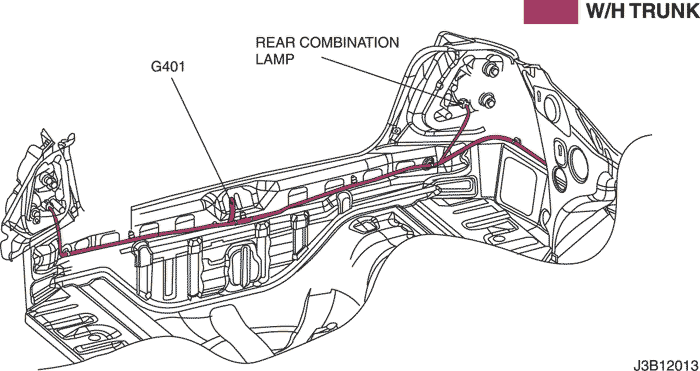Electrical Wiring Diagram 2006 Nubira-Lacetti 16.TRUNK