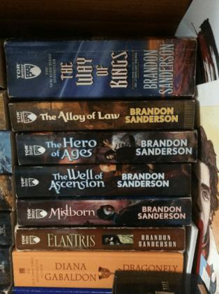 Brandon Sanderson books
