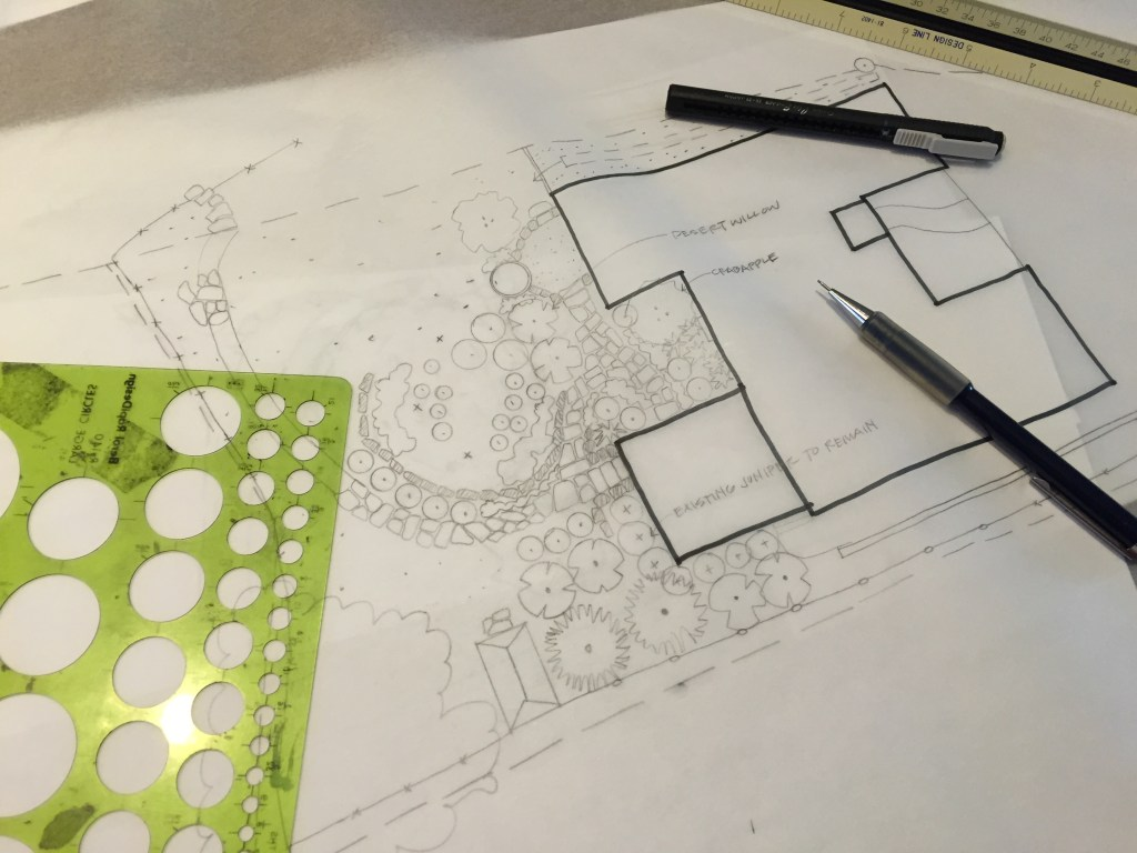 landscape plan in progress learn more at mylandscapecoach.com