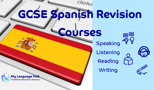 GCSE Spanish Revision Courses - Speaking, Listening, Reading & Writing