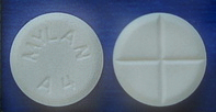 Mylan A4 Pill - Alprazolam (generic Xanax) 2mg