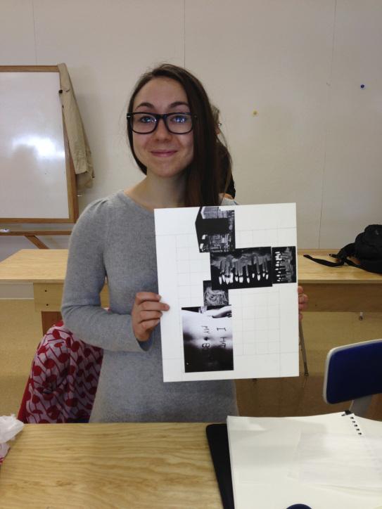 Amelia and her design