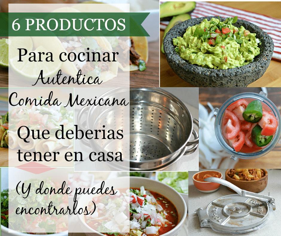6 utensilios favoritos de la cocina mexicana que todos