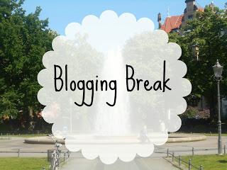 my lavender tinted world, blogging, blogging break
