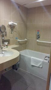 bathroom, future inns bristol, hotel review, mylavendertintedworld