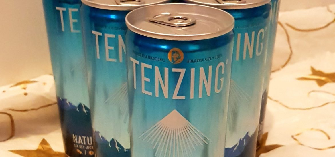tenzing, energy drink, drink review, tenzing review, sheffield bloggers, mylavendertintedworld