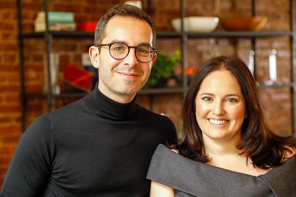 Brad and Faya Hoffman