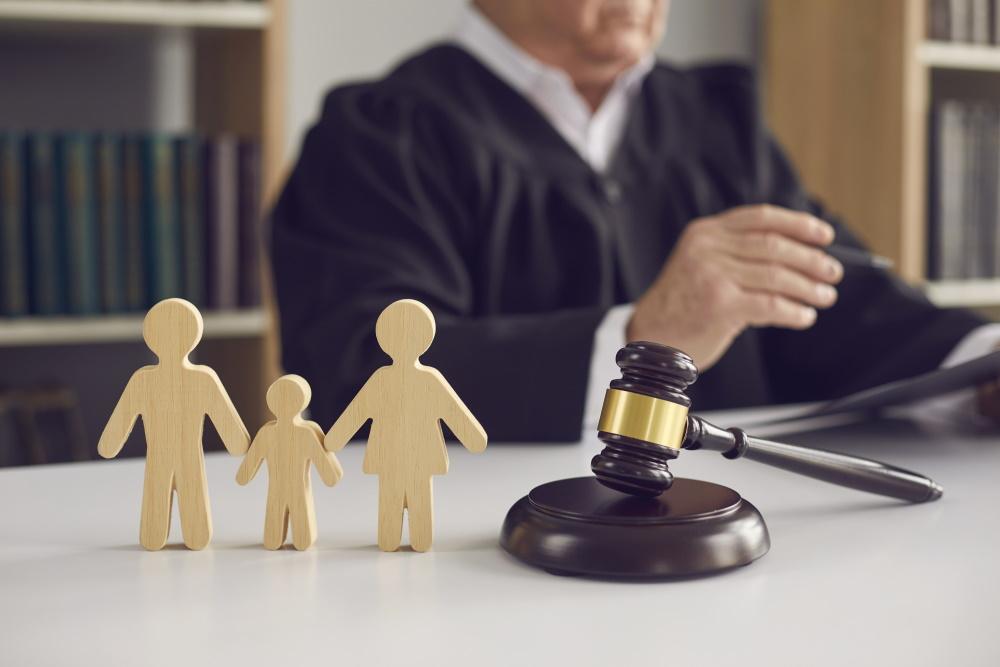 judge ruling on child custody case