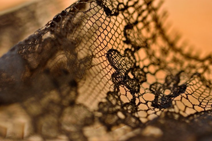 Lace and sensuality, La Rochelle, France