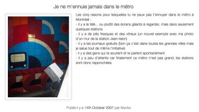 14.10.07 - métro ennui