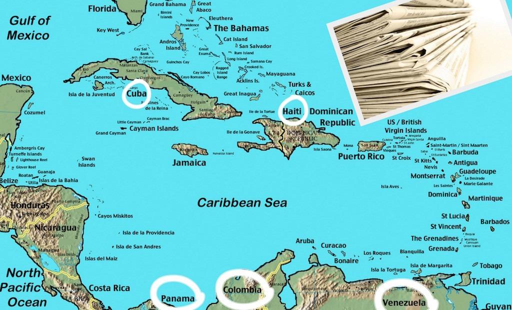 Grande Caraibe: ces 5 pays qui concentrent (quasi) toute l'attention des grands médias