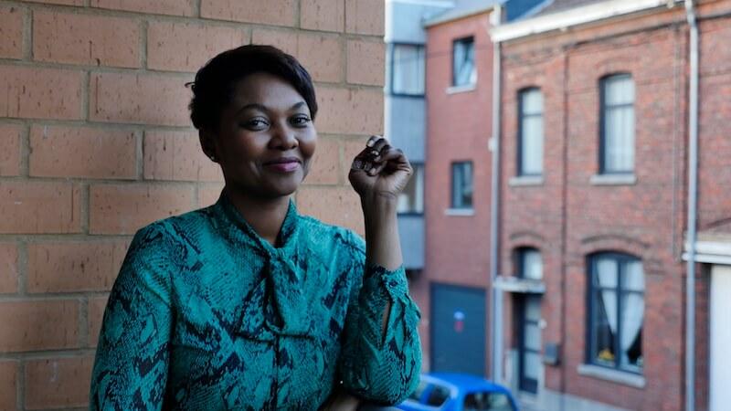 Cyrielle Cuirassier, la voix de la Guadeloupe à Bruxelles