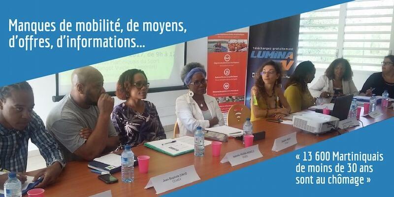 L'employabilité des jeunes Martiniquais, un sempiternel casse-tête